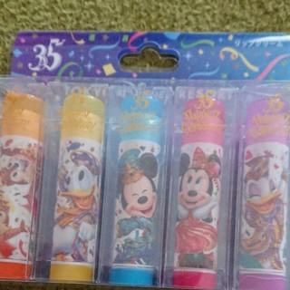 ディズニー(Disney)のディズニーランド35周年グッズ リップ(リップグロス)
