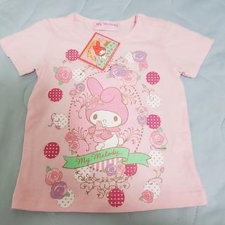 マイメロディ(マイメロディ)の新品☆マイメロちゃん半袖シャツ90cm(Tシャツ/カットソー)