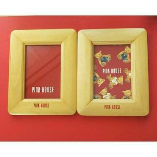 ピンクハウス(PINK HOUSE)のPINK HOUSE フォトフレーム 写真立て(フォトフレーム)