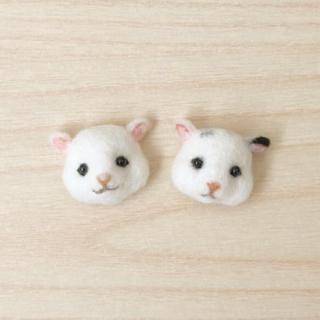 羊毛フェルトハムスターブローチ❤️オーダーページ(おもちゃ/ペット小物)