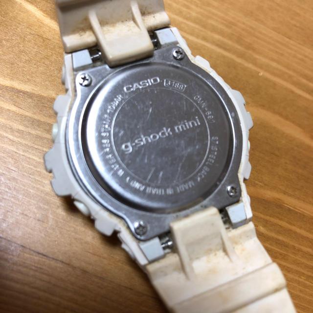 Baby-G(ベビージー)のCASIO Gショック mini 白 中古 メンズの時計(腕時計(デジタル))の商品写真