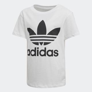 adidas - 新品 アディダス ロゴT Tシャツ キッズ 100 白 ホワイト オリジナルス