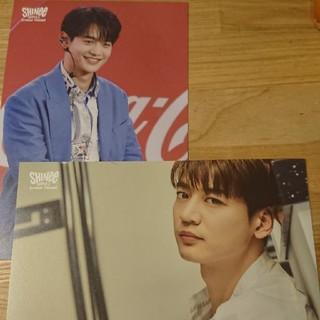 シャイニー(SHINee)のSHINeeミンホファンミーティングポストカード(K-POP/アジア)