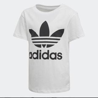 adidas - 新品 アディダス ロゴT Tシャツ キッズ 120 オリジナルス ホワイト 白