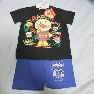 新品☆アンパンマン上下セットsize90(Tシャツ/カットソー)