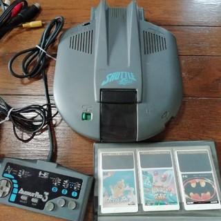 エヌイーシー(NEC)のPCエンジン シャトル(家庭用ゲーム機本体)