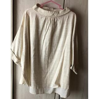 ツムグ(tumugu)のツムグ tumugu プルオーバー 未使用品(シャツ/ブラウス(半袖/袖なし))