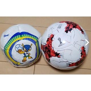 アディダス(adidas)のBRA,RUSワールドカップ記念ボール(記念品/関連グッズ)