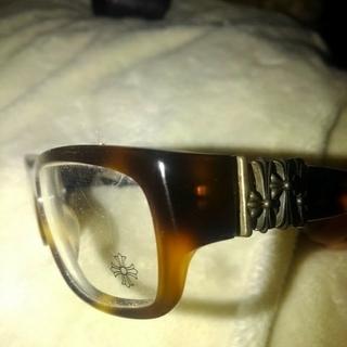 クロムハーツ(Chrome Hearts)のCHROME HEARTS だて眼鏡 鼈甲フレーム(サングラス/メガネ)