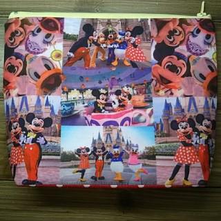 ディズニー(Disney)のディズニー 実写 ポーチ ハンドメイド(ポーチ)