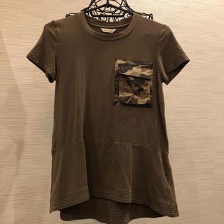 ジェットレーベル(JET LABEL)の迷彩ポケットのカットソー✴️✳️✳️(Tシャツ(半袖/袖なし))