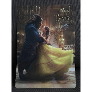 ディズニー(Disney)の映画  美女と野獣 下敷  正規品(洋画)