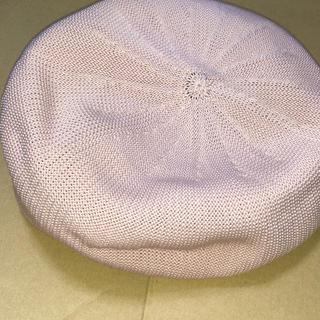 ケービーエフ(KBF)のKBF ピンクベレー(ハンチング/ベレー帽)