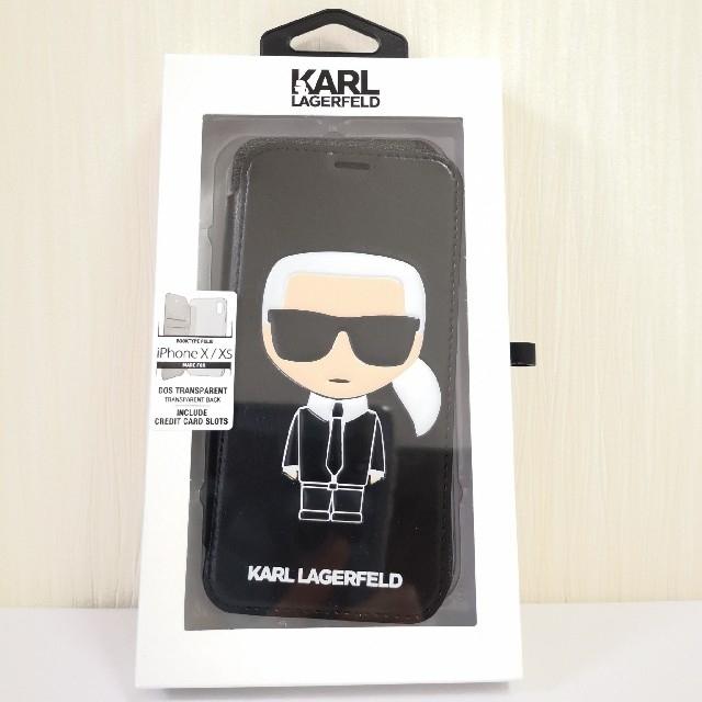 iphone7 ポリカーボネート ケース | Karl Lagerfeld - カールラガーフェルド iPhone XS ケース 公式ライセンス品 カバーの通販 by パヒューム…shop|カールラガーフェルドならラクマ