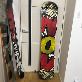 ノーベンバー(NOVEMBER)のNOVEMBER D4 DFOUR 153 スノーボード 板(ボード)