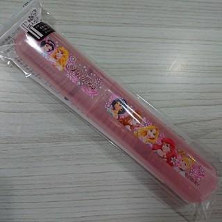 ディズニー(Disney)の新品 プリンセス 歯ブラシケース 子ども用 はぶらし(歯ブラシ/歯みがき用品)