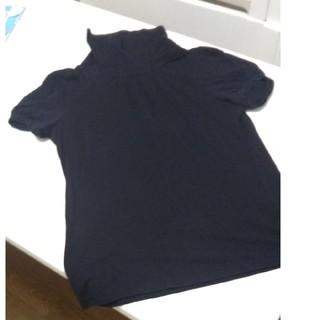 エニィスィス(anySiS)のanysis 半袖タートルネックTシャツ(Tシャツ(長袖/七分))