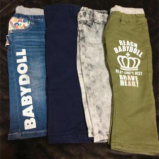 ベビードール(BABYDOLL)の子供 ズボン(80〜90cm)ベビドも👑(パンツ)