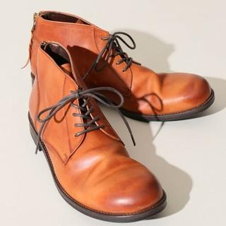 パドローネ(PADRONE)のフリークスストア✕パドローネ バックジップチャッカブーツ 美品 サイズ42(ブーツ)
