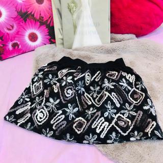 ダブルアール(WR)のインポート♡ミニスカート♡総刺繍(ミニスカート)