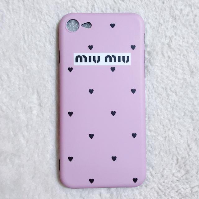 iphone8 バスケ ケース / miumiu - miumiu風♡♡iPhoneケース iPhonexの通販 by めいち's shop|ミュウミュウならラクマ