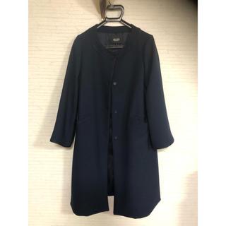 紺色コート  値下げしました。(ロングコート)