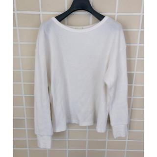 ジーユー(GU)のGU ワッフルT 長袖(Tシャツ(長袖/七分))