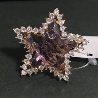 17号 合成アレキサンドライト スター ハリウッドジュエリー レディース 指輪(リング(指輪))