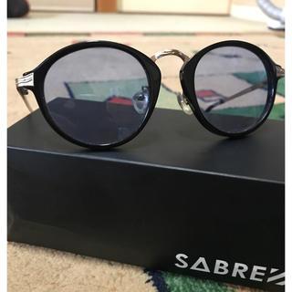 セイバー(SABRE)のsaber カラーレンズ ブルー(サングラス/メガネ)