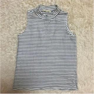 カシータ(casiTA)の送料無料!ハイネック ノースリーブ Tシャツ(Tシャツ(半袖/袖なし))