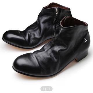 パドローネ(PADRONE)のパドローネ サイドジップ ショートブーツ(ブーツ)