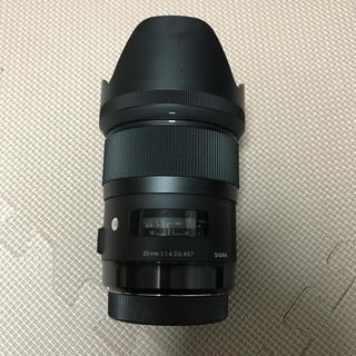 シグマ(SIGMA)のSIGMA 35mm f1.4 DG art(レンズ(単焦点))