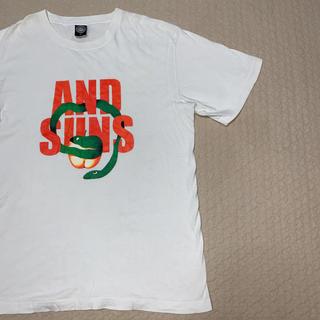 アンドサンズ(ANDSUNS)のAND SUNS Lサイズ Tシャツ(Tシャツ/カットソー(半袖/袖なし))
