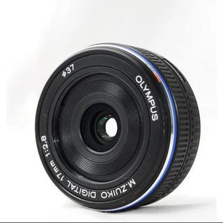 オリンパス(OLYMPUS)のOLYMPUS レンズ 単焦点M.Zuiko 17mm f2.8 おまけ付き(レンズ(単焦点))