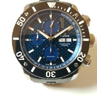 エドックス(EDOX)の【超美品】自動巻き EDOX エドックス 500M防水  クロノオフショア1 (腕時計(アナログ))