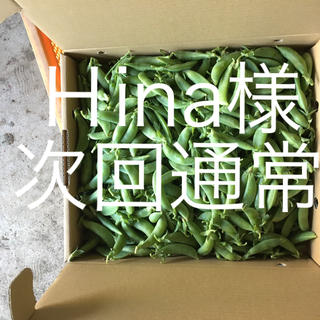 鹿児島産スナップエンドウ2キロ^_^次回通常(野菜)