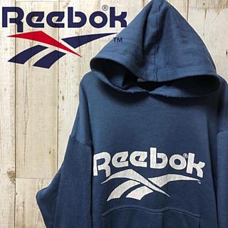 リーボック(Reebok)のReebok リーボック ビックロゴ  デカロゴ  パーカー L(パーカー)