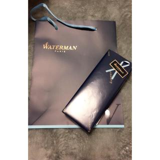 ウォーターマン(Waterman)の未使用 ラッピング済み ウォーターマン ボールペン マットブラック(ペン/マーカー)