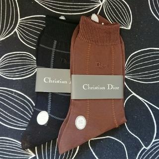クリスチャンディオール(Christian Dior)のChristian Dior*靴下2足set(ソックス)