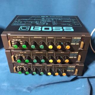 BOSS RDD-20 DIGITAL DELAY エフェクター 3個セット(エフェクター)