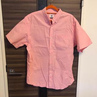 オールドネイビー メンズ 半袖シャツ ピンク