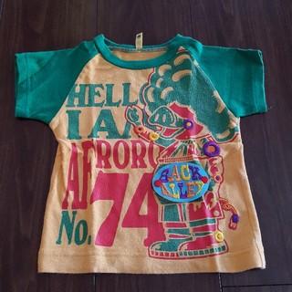 バックアレイ(BACK ALLEY)の☆バックアレイ ブタさんTシャツ 90cm(Tシャツ/カットソー)
