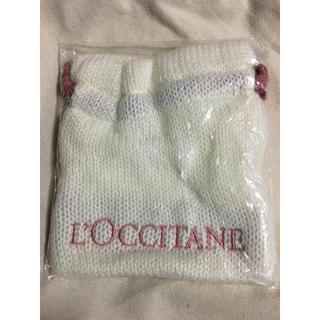 ロクシタン(L'OCCITANE)のロクシタン 毛糸の巾着 バッグ ポーチ(ポーチ)