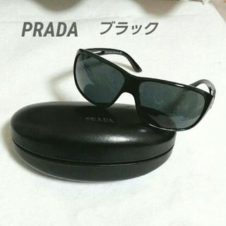 9119dd1d3cd3 2ページ目 - プラダ サングラス(ブラック/黒色系)の通販 200点以上 ...