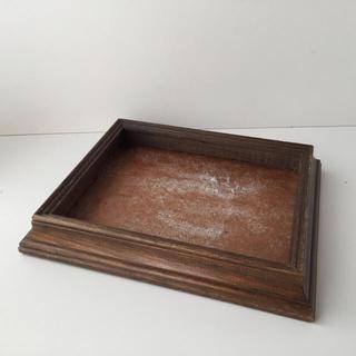 ヴィンテージ 木製額縁 フレーム(絵画額縁)