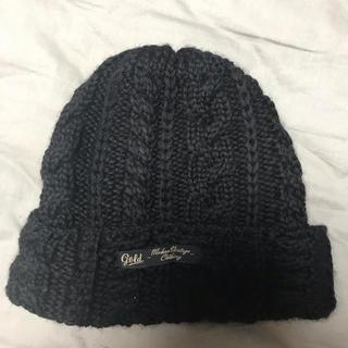 トウヨウエンタープライズ(東洋エンタープライズ)のGOLD ゴールドニット帽 ニットキャップ 東洋エンタープライズ(ニット帽/ビーニー)