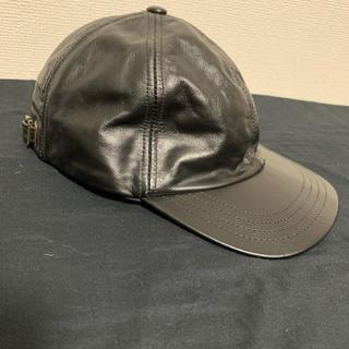 ニューヨークハット(NEW YORK HAT)のnew york hat ニューヨークハット vintage レザーキャップ(キャップ)