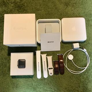 アップル(Apple)の【XOさん専用】新品未開封 アップルウォッチ2 42mm ステンレス(腕時計(デジタル))