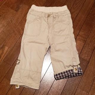 サンカンシオン(3can4on)の子供服100㎝ 3can4one七分丈パンツ(パンツ/スパッツ)