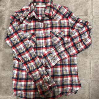 ハニーサックルローズ(HONEYSUCKLE ROSE)のHONEYSUCKLE ROSE チェックシャツ L(シャツ/ブラウス(長袖/七分))